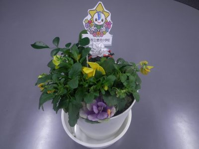 お礼のお花